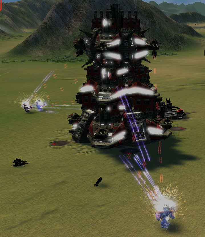 Cybran Tech 3 Fortress