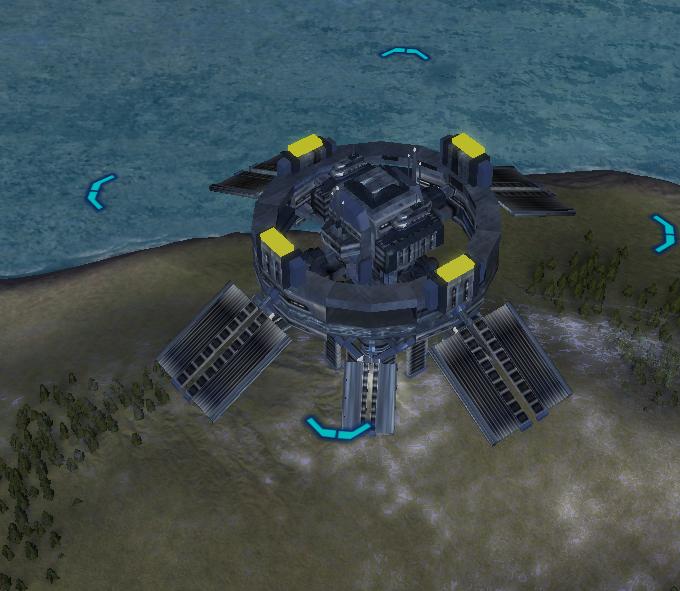 Orbit to Planet Shieldsatellite