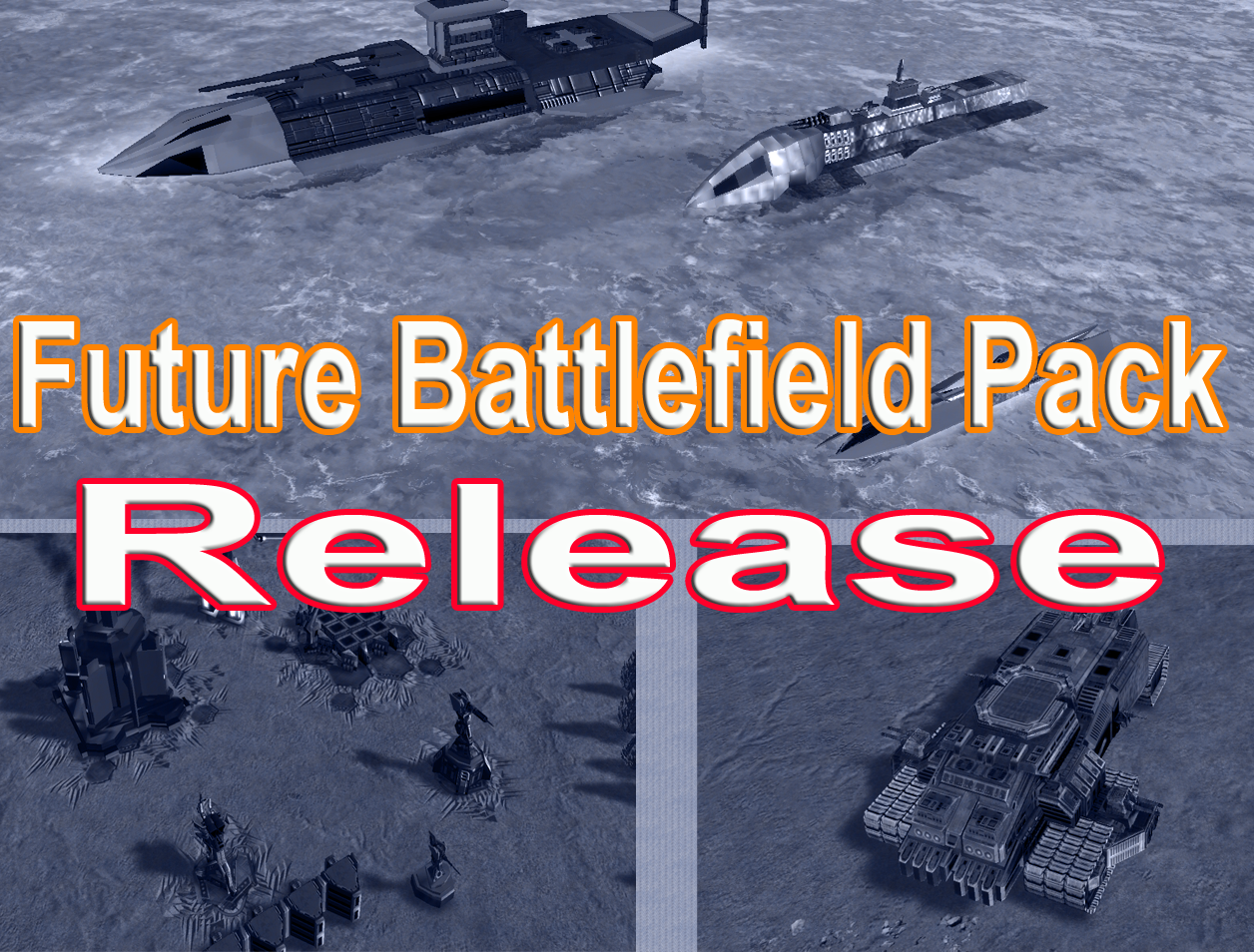 Future Battlefield Pack Release