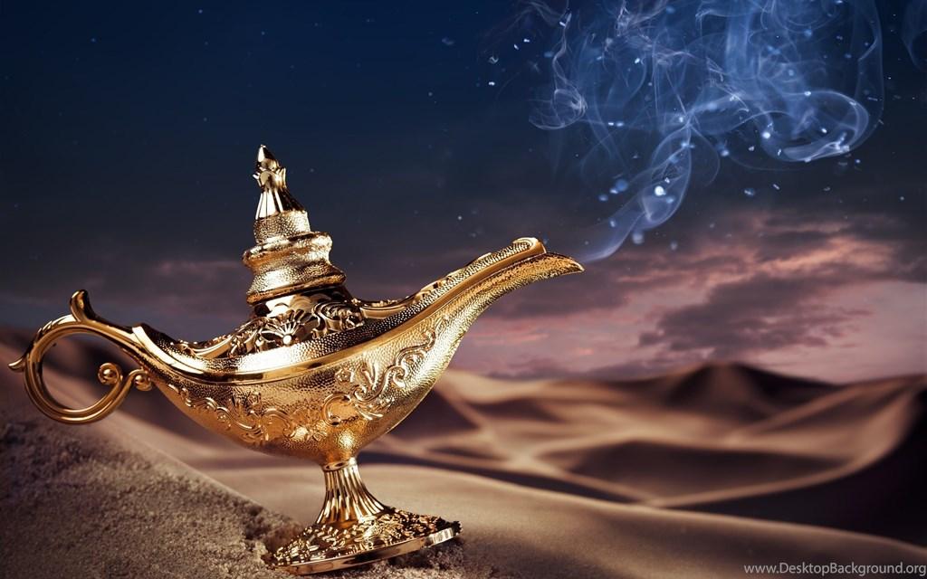 910013 magic lamp of arabian nig