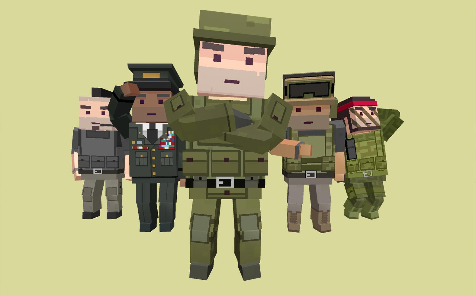 SHOOTY TROOPS™ Crew