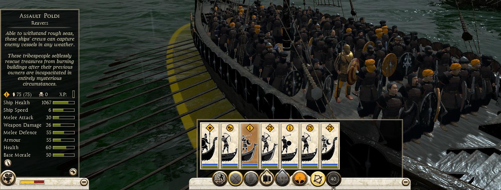 Assault Poldi, Reavers