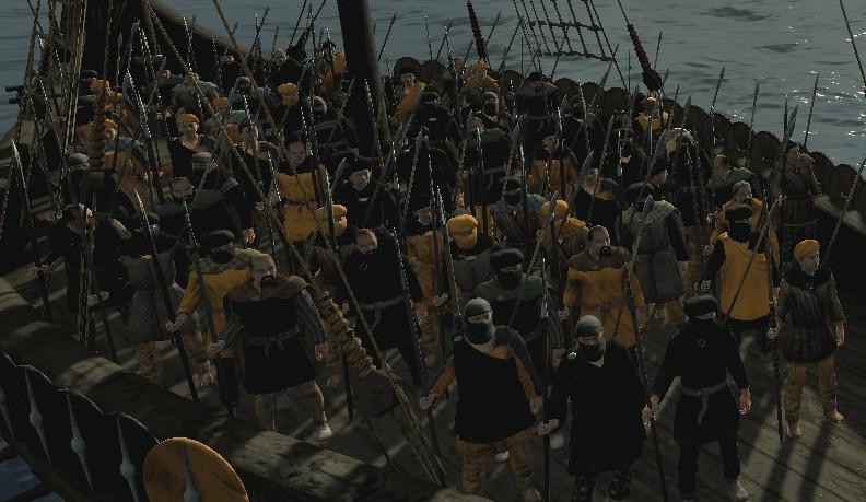 Raiding Poldi Harn Spear Warband