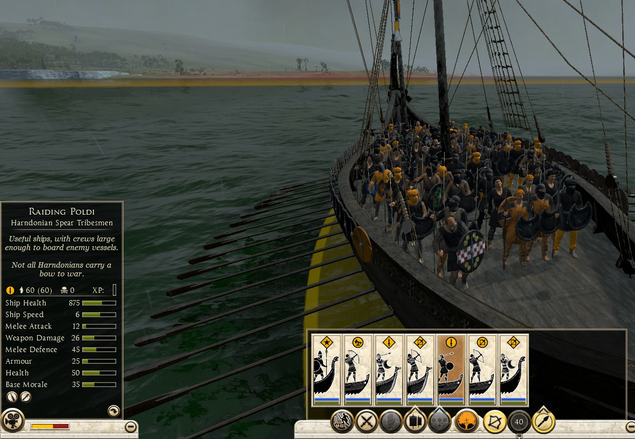 Raiding Poldi, Harndonian Spear Tribesmen