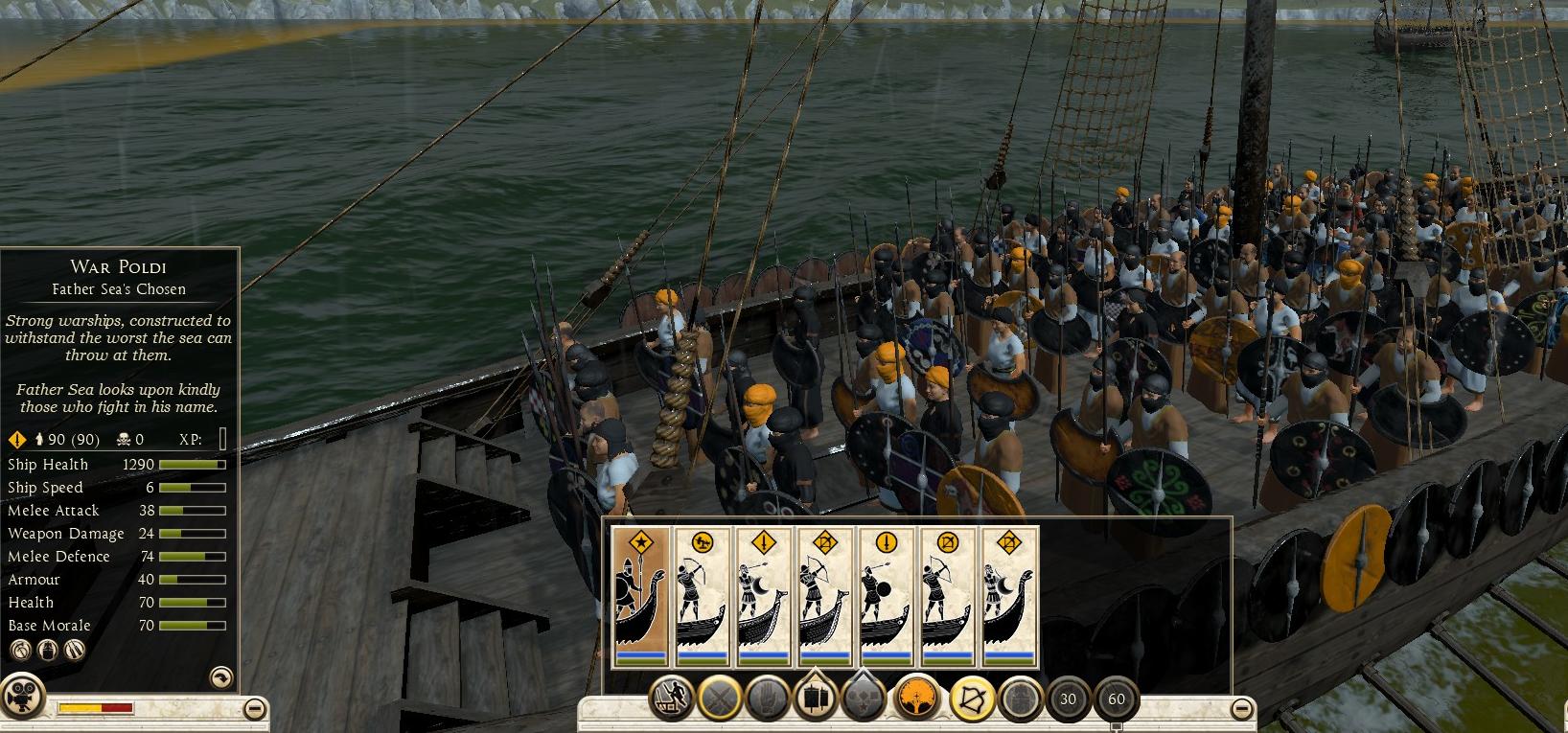 War Poldi, Father Sea's Chosen