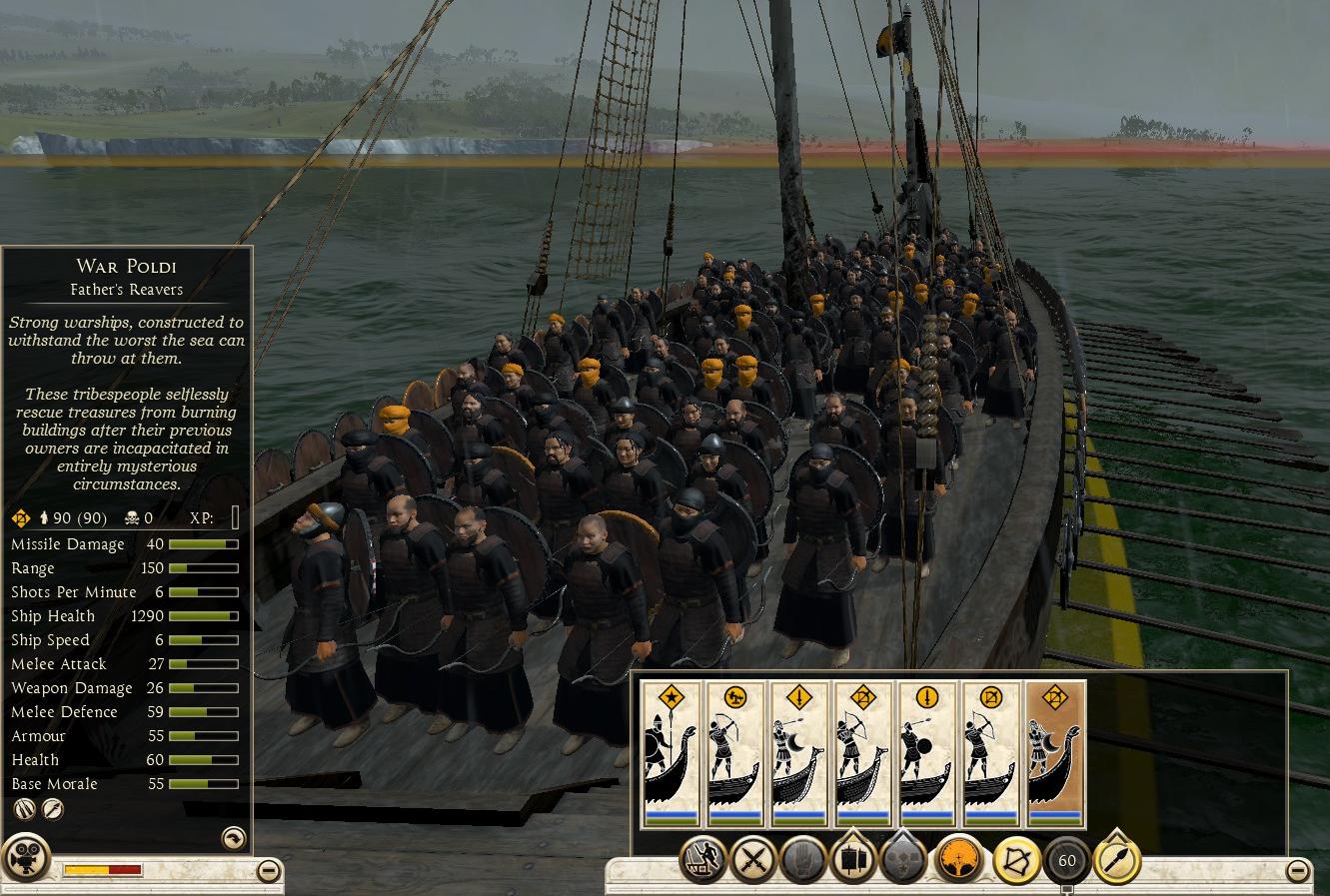 War Poldi, Father's Reavers