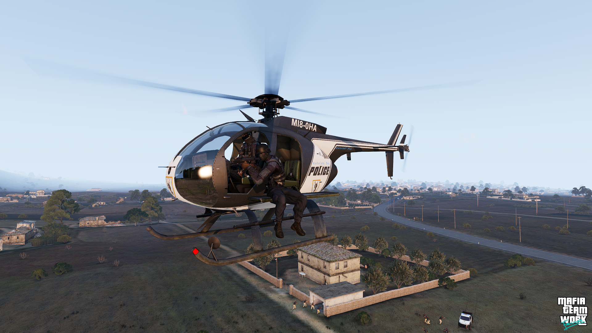 S.W.A.T. Helicopter