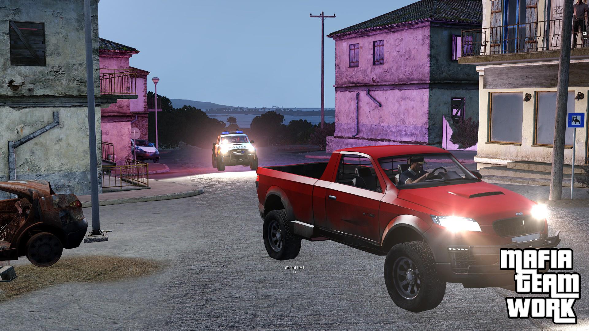 Police vehicle's lighting