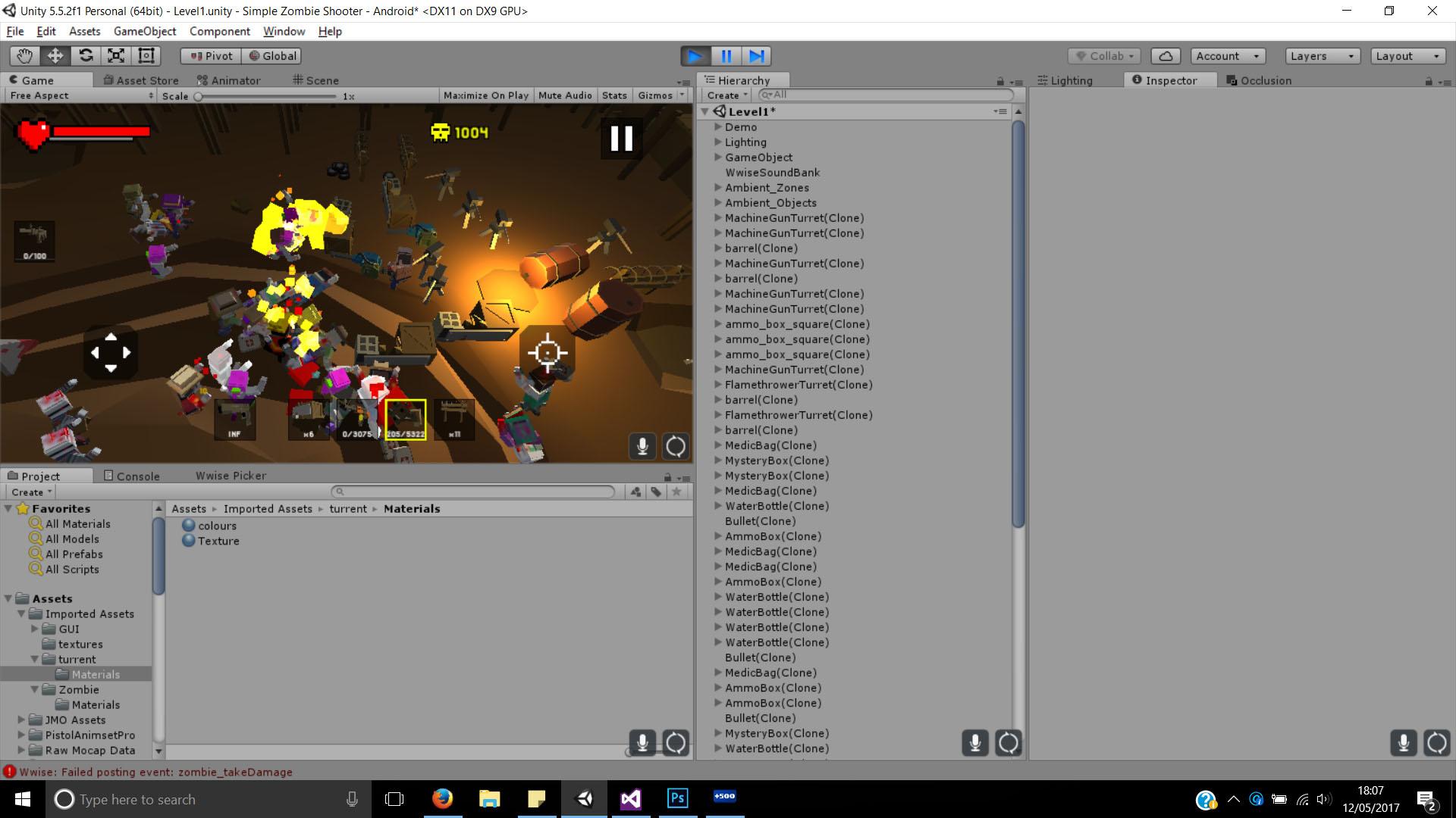 flamethrower update