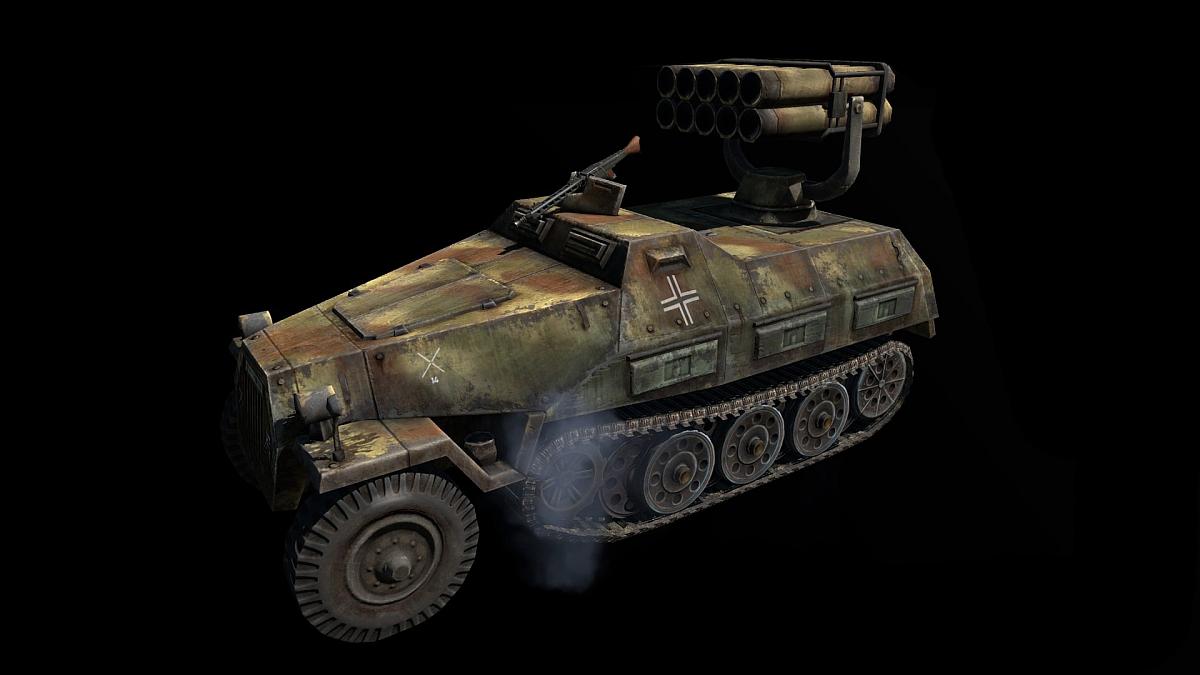 Panzerwerfer 42 Skin