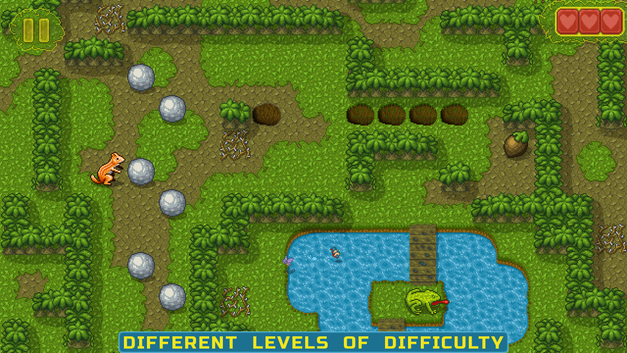 different levels of difficulty