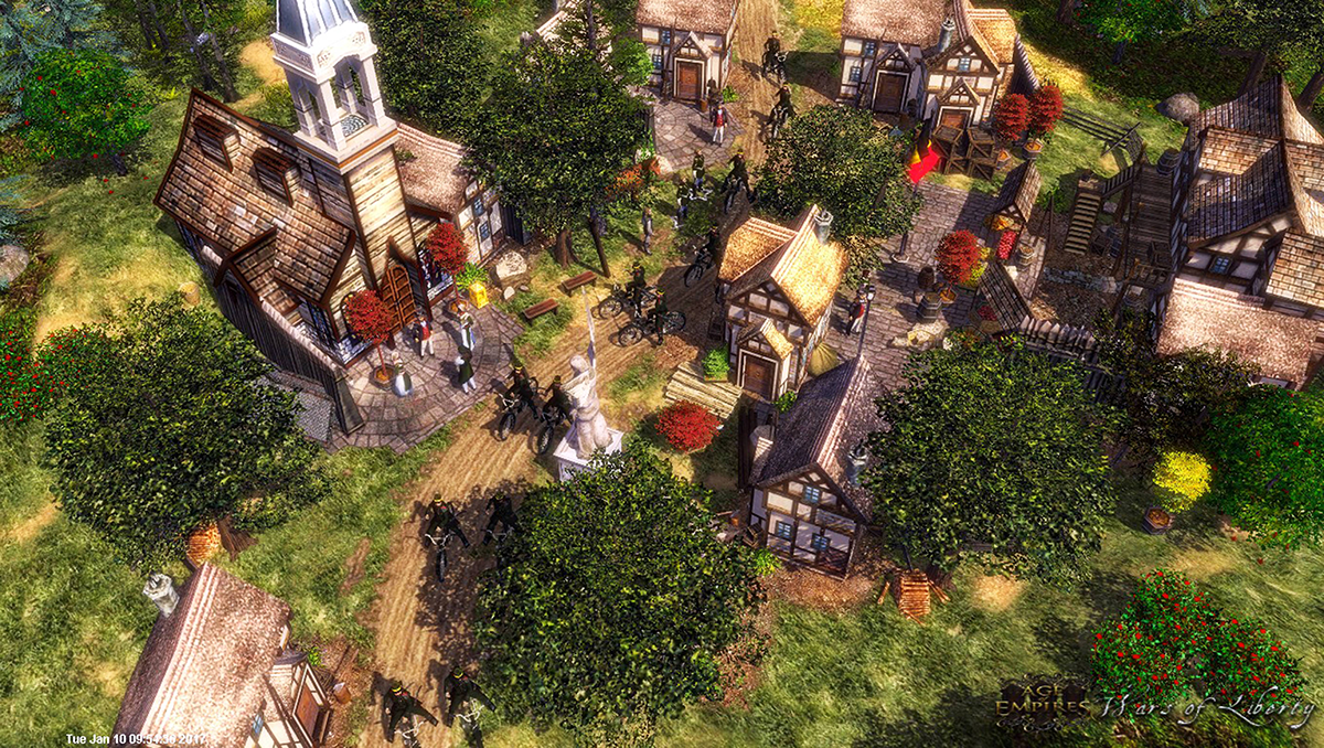 Age of Empires III: Wars of Liberty mod - Mod DB