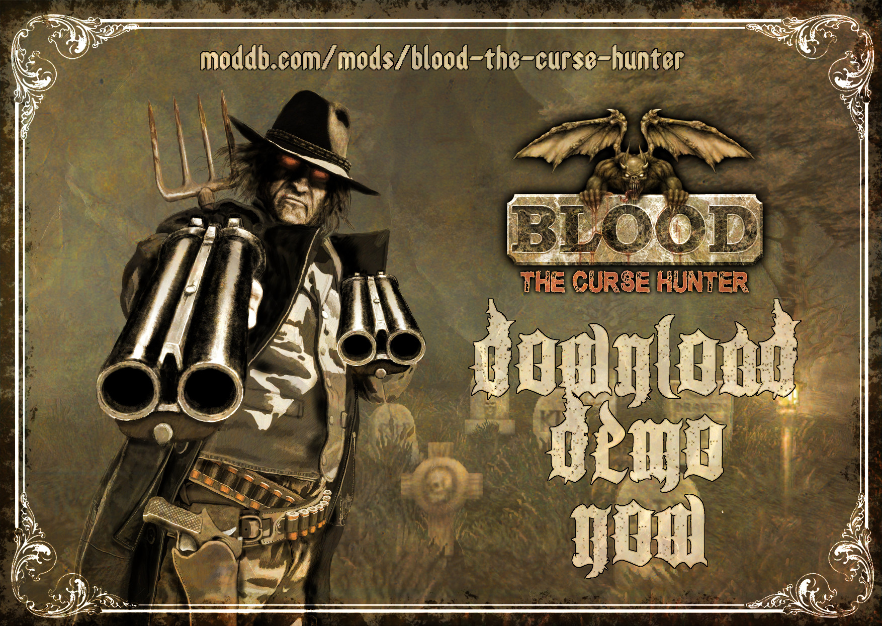 We're proud to share our Blood: the Curse Hunter demo in public. Thanks to closed beta testing we've managed to fix some bugs.