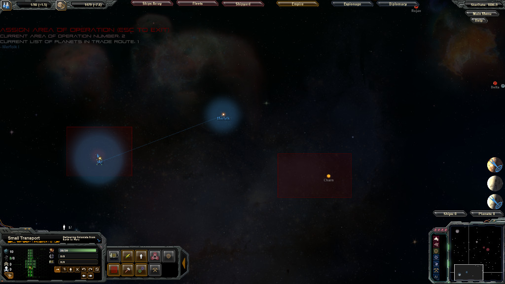 Venus 01 TradeRoutes