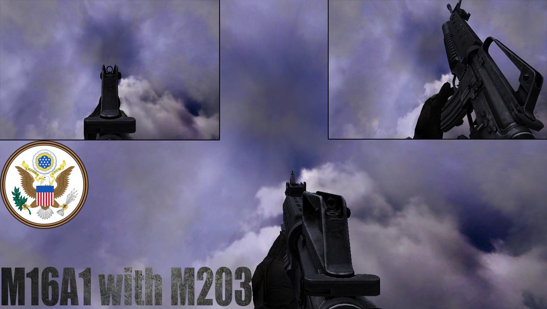 M16M203