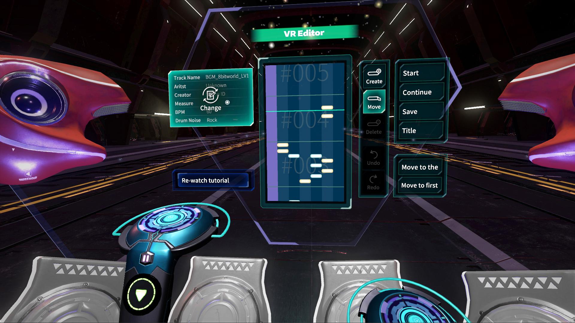 Into the Rhythm VR-VR Editor
