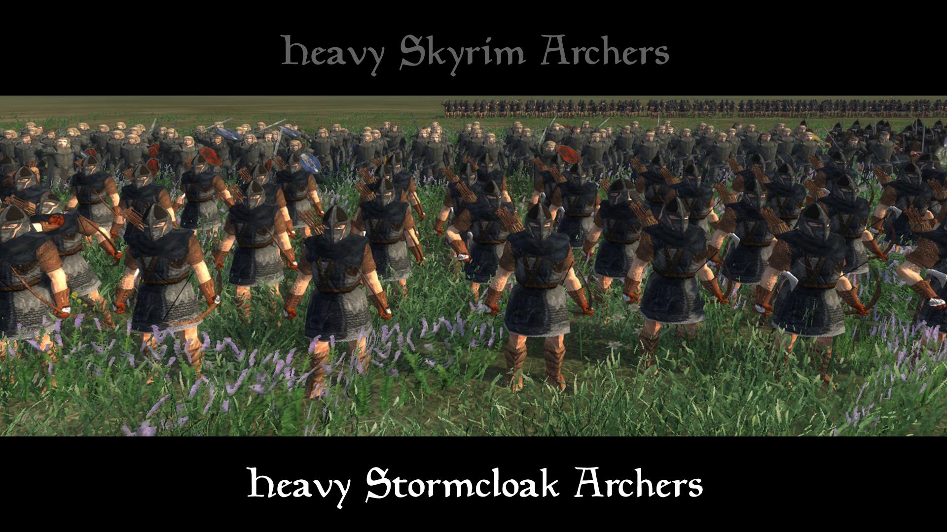 havy stormcloak archers