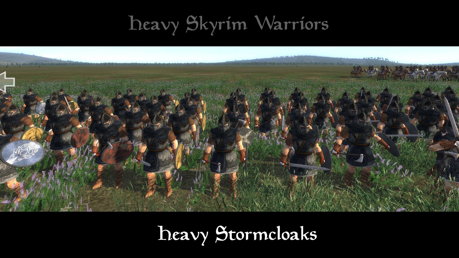 heavy stormcloaks