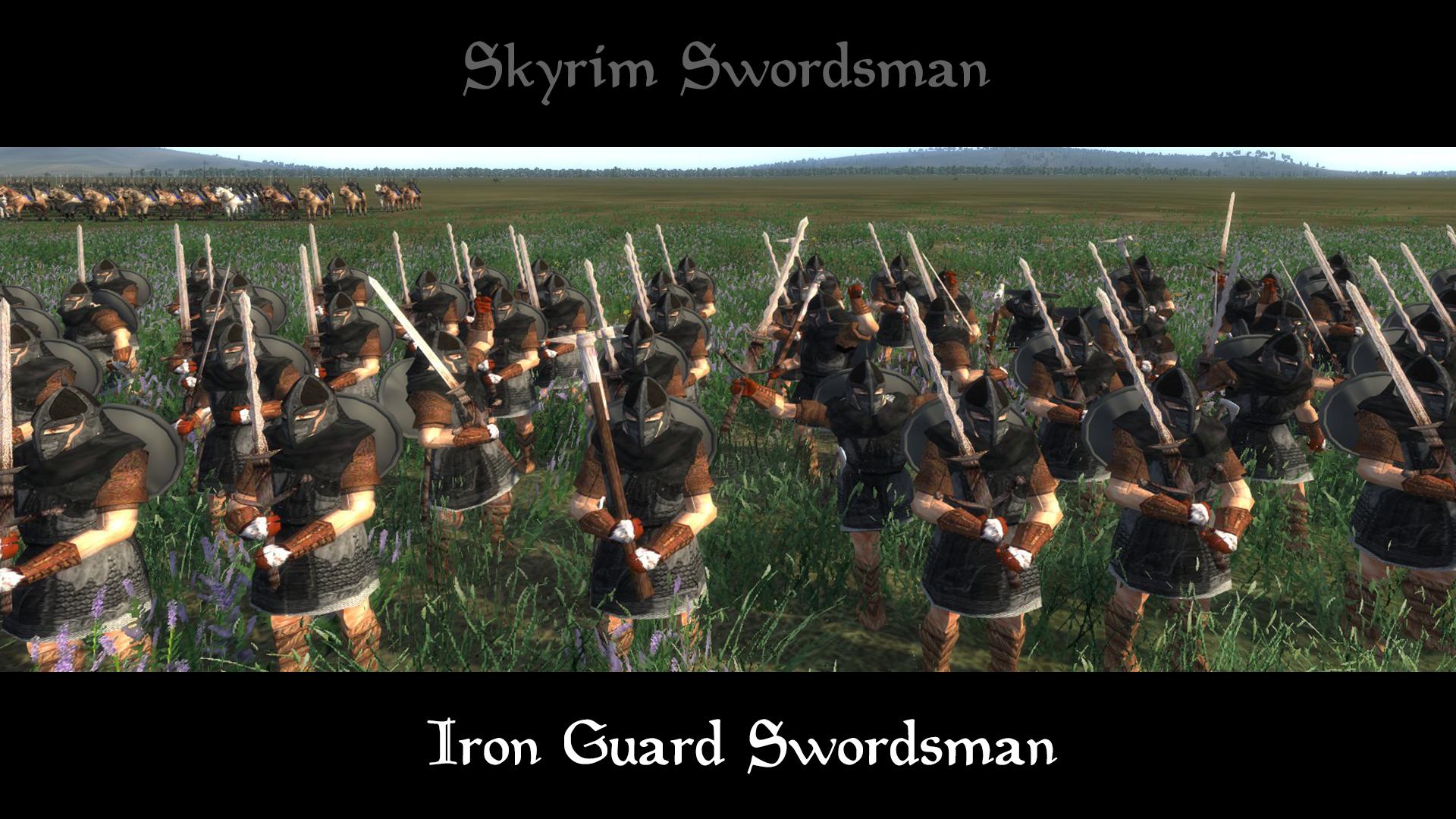 iron guard swordsman