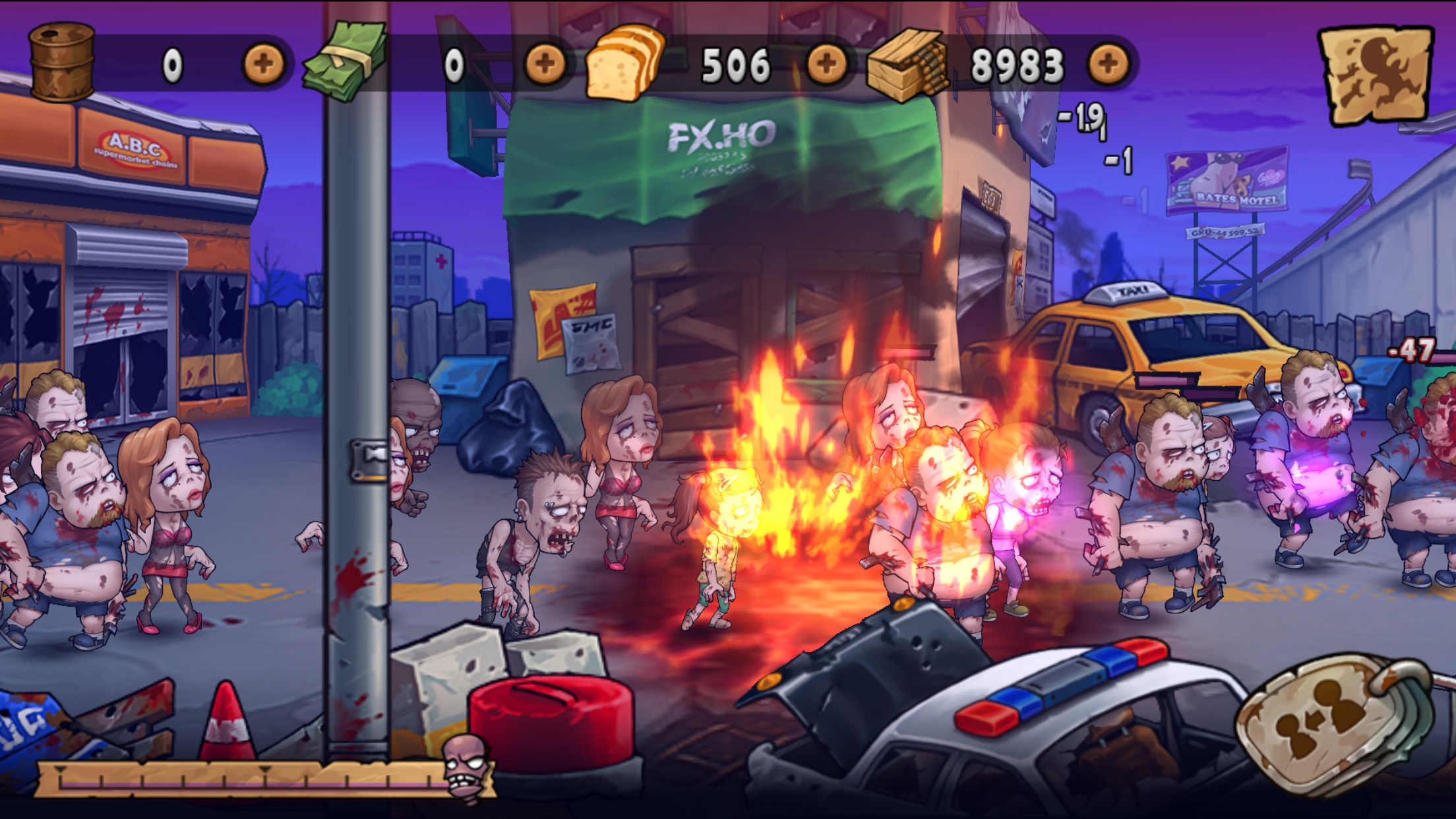 WAVES OF ZOMBIES 5