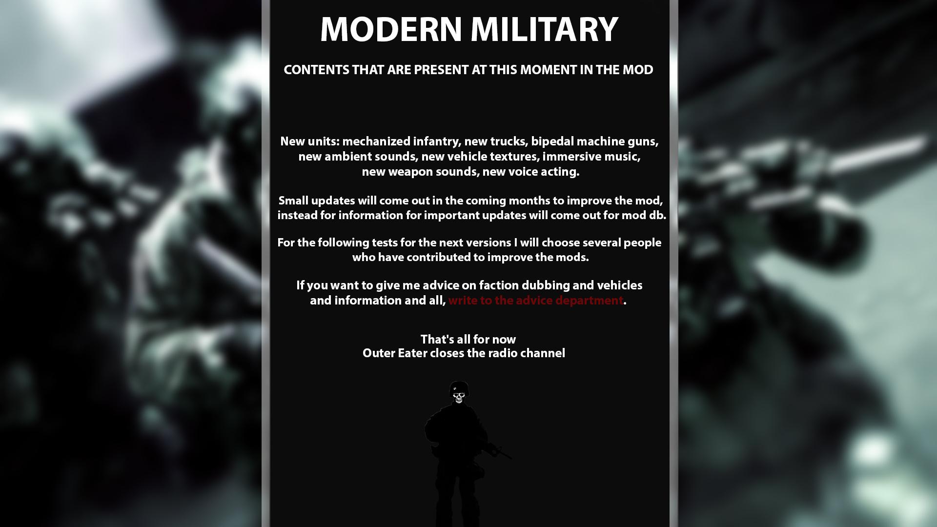 modern military 3