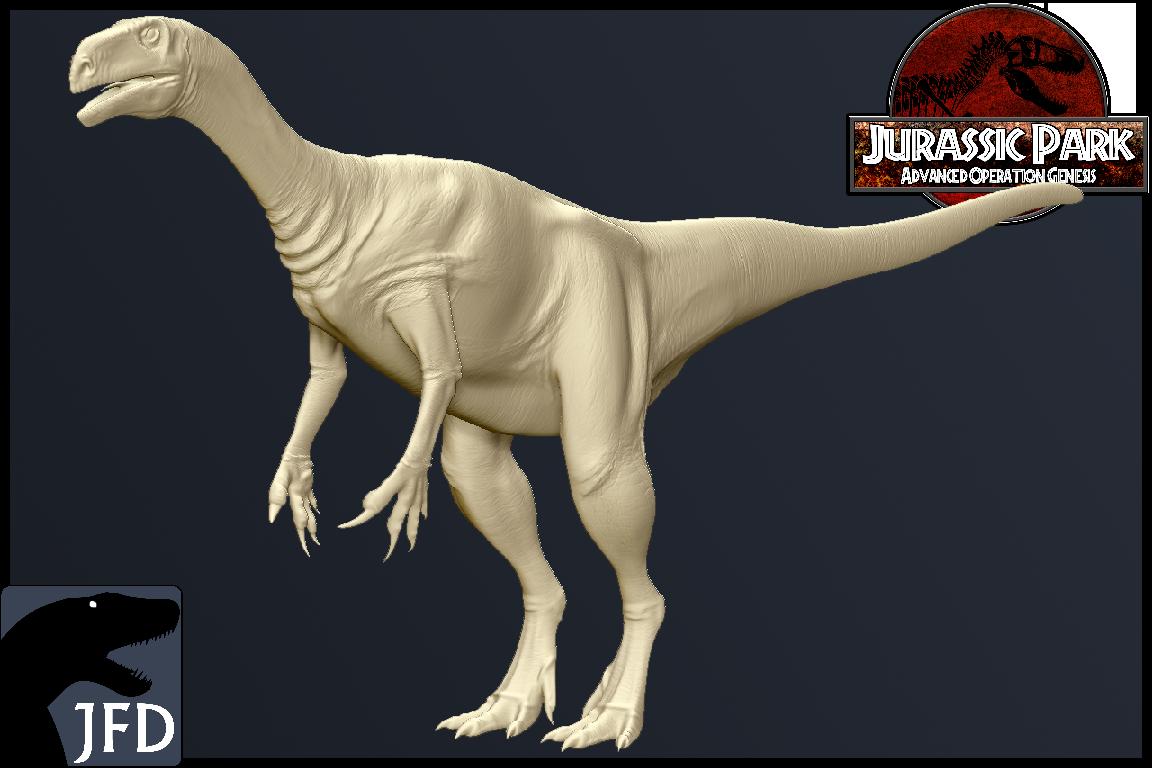 PlateosaurusgracilisSculpt Rende