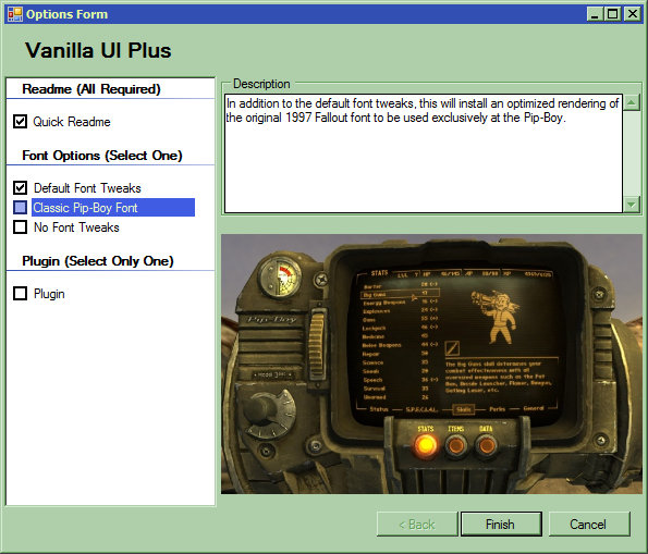 vanilla ui plus fomod installer