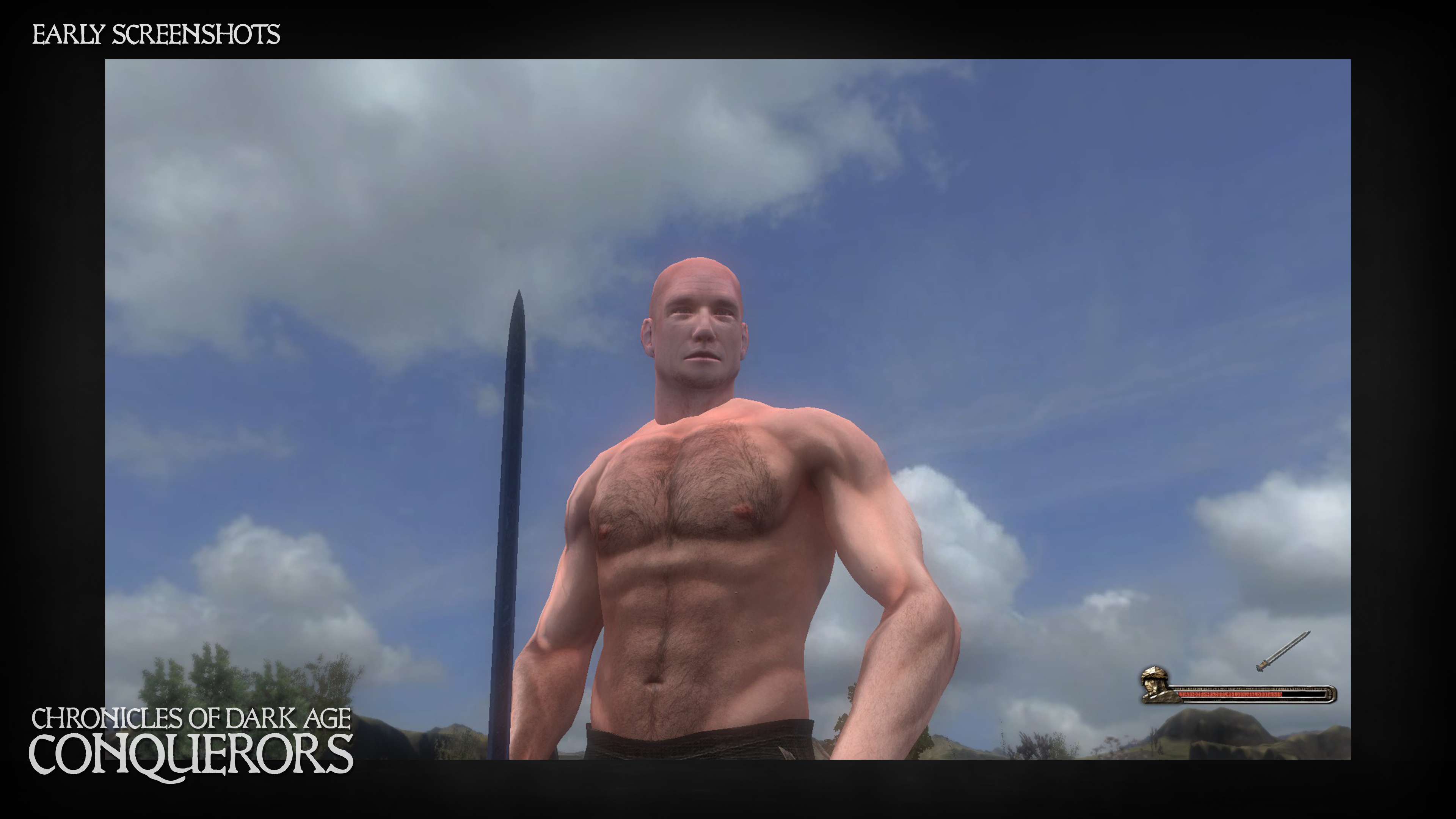 New body model in-game - first version