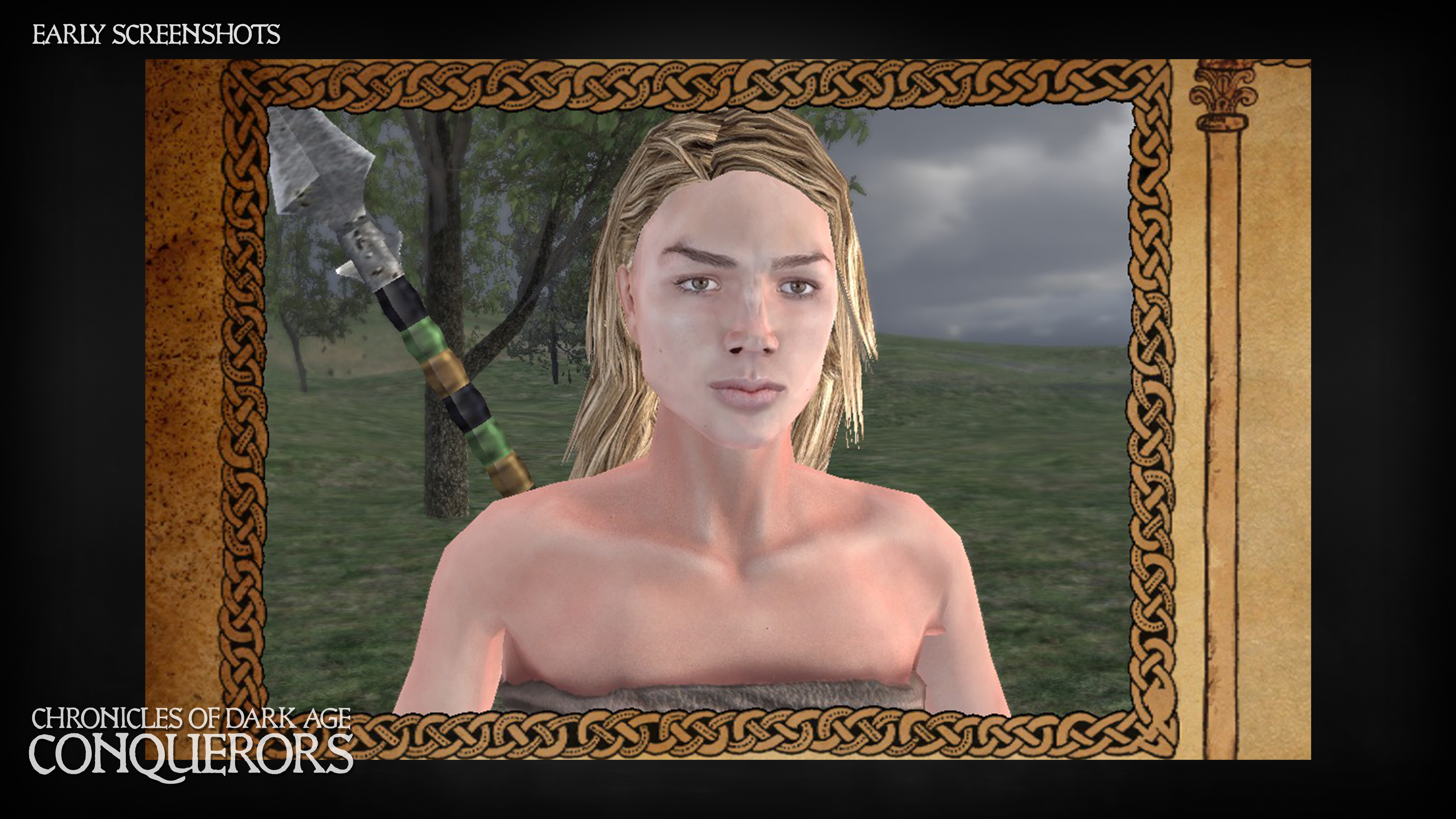 New head model and texture - female