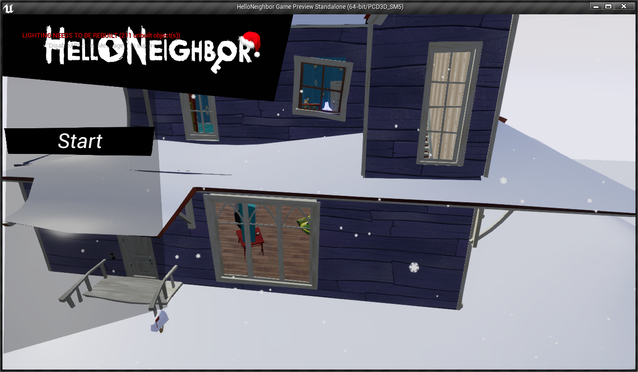 HelloNeighbor Game Preview Stand 4