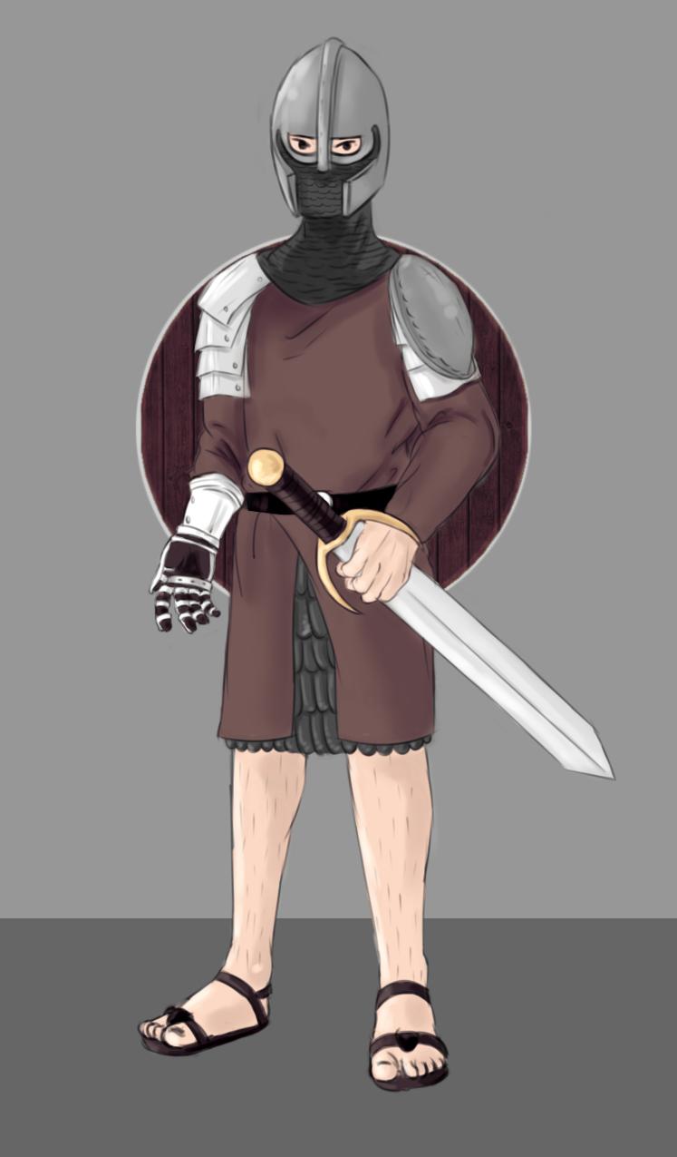 soldier n shield