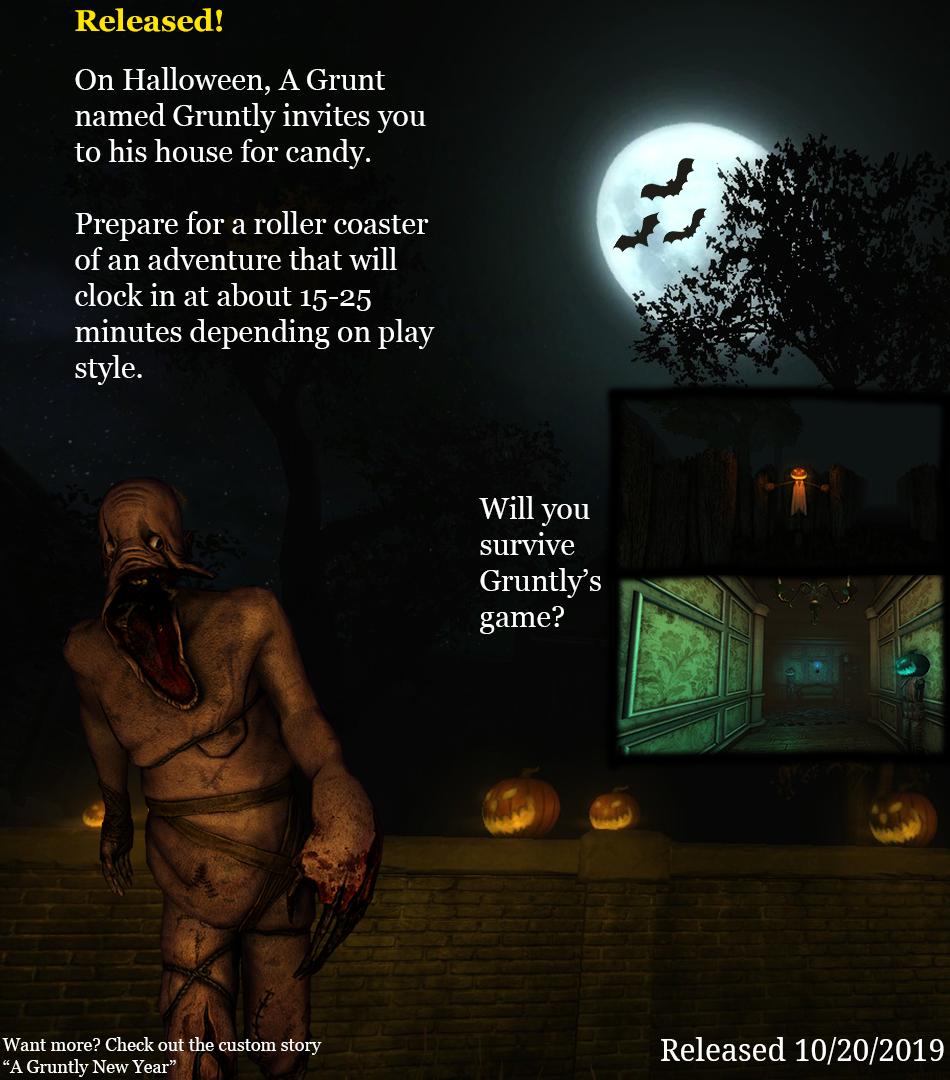 Gruntly Halloween Page final