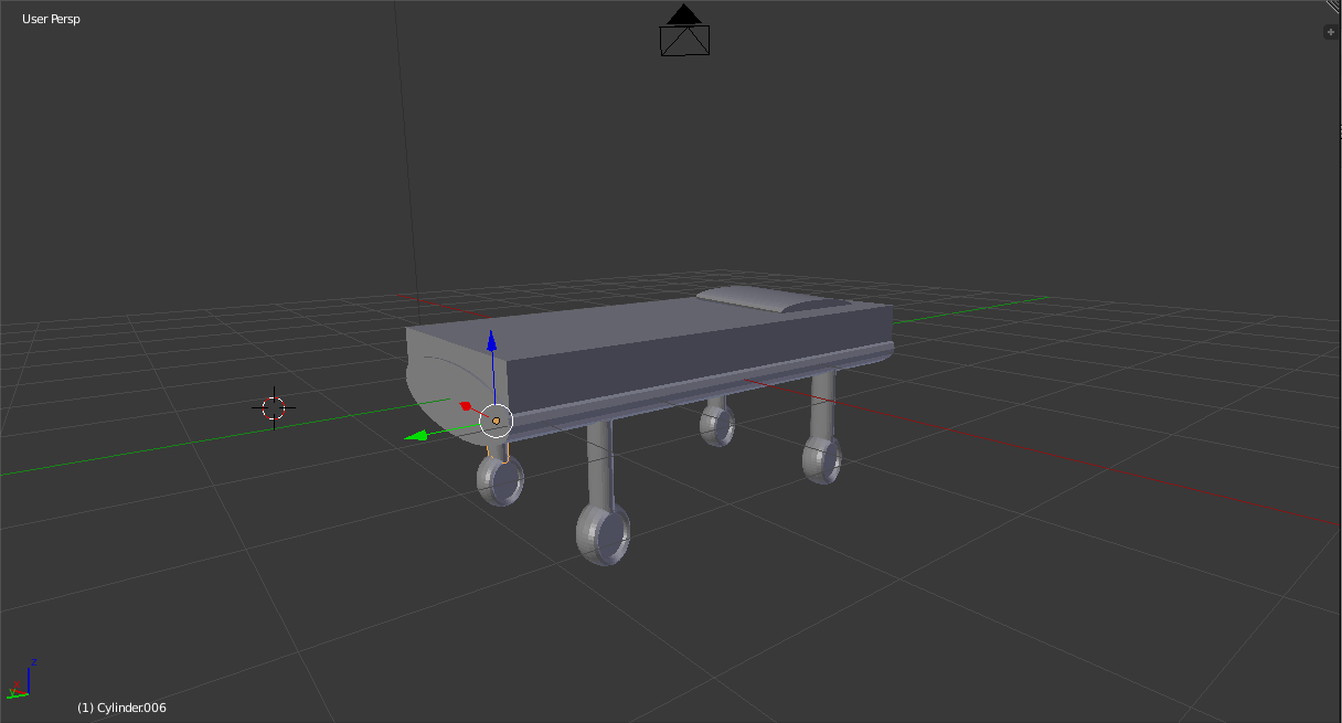 Hospital Bed WIP
