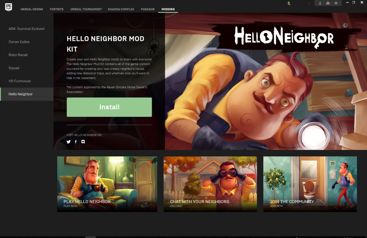 Hello Neighbor Mod Kit