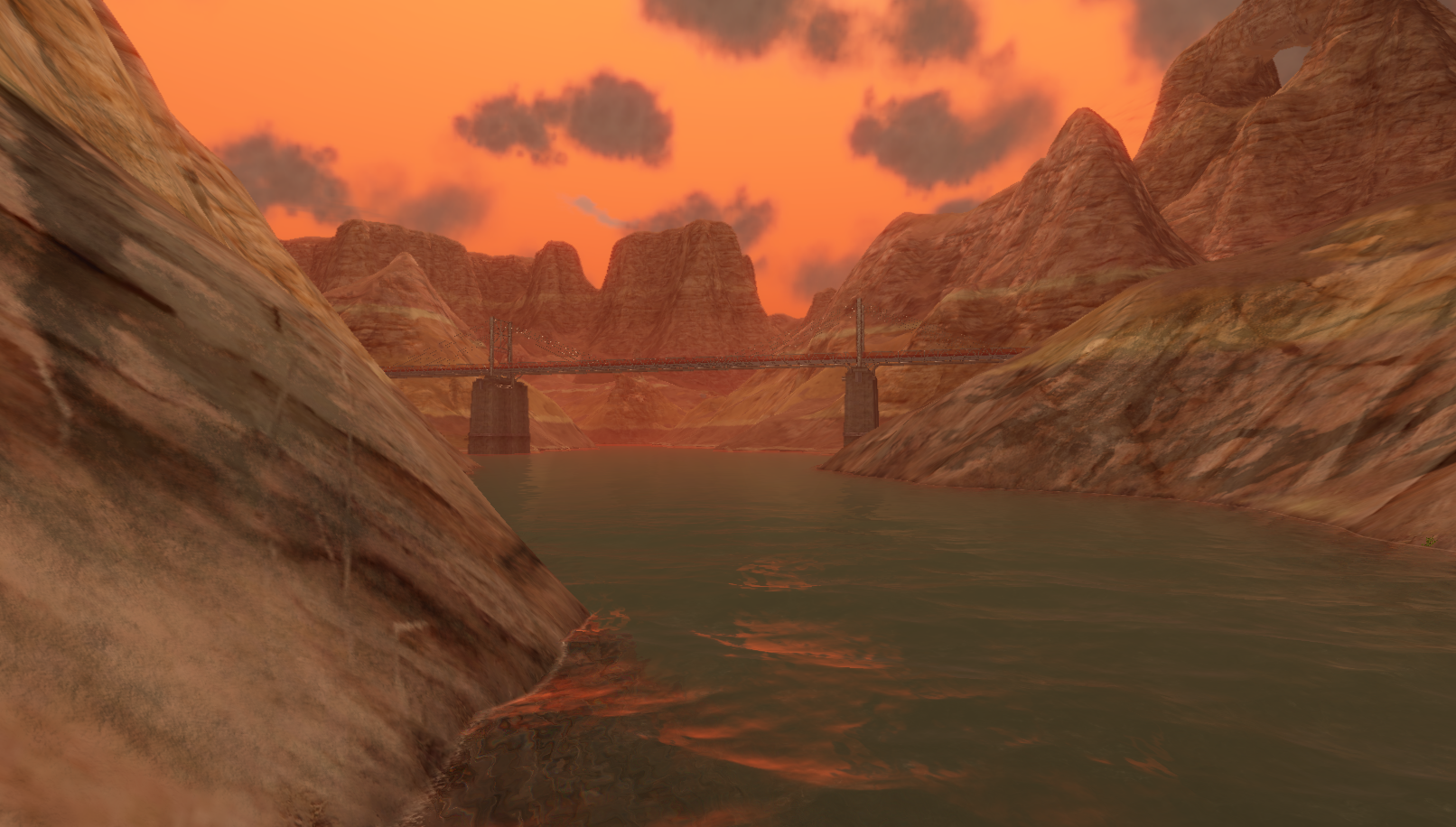 A bridge over contested land (and water) on the new TC_Palisades