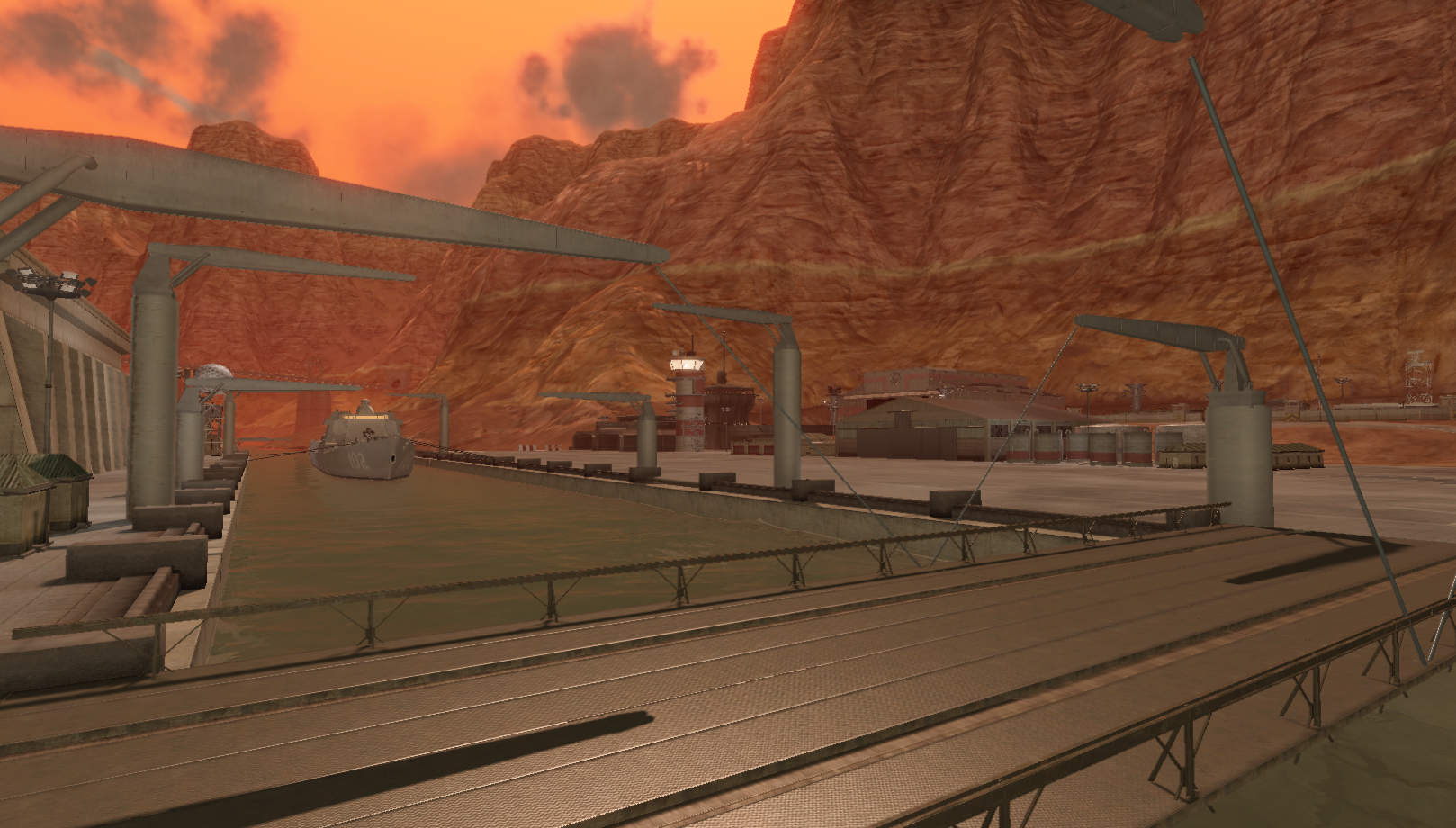 A loading dock from the new TC_Palisades