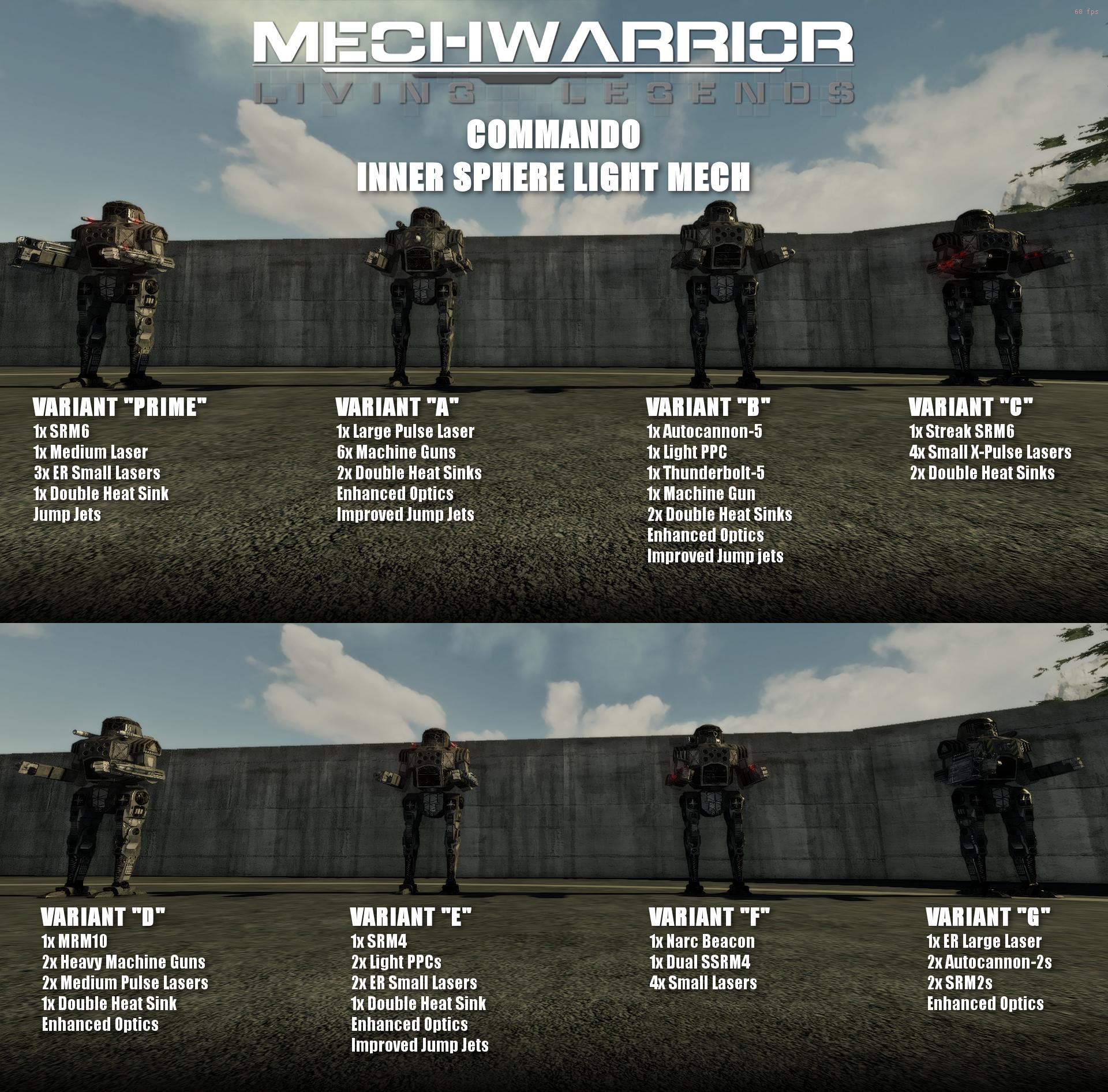 Commando Variants