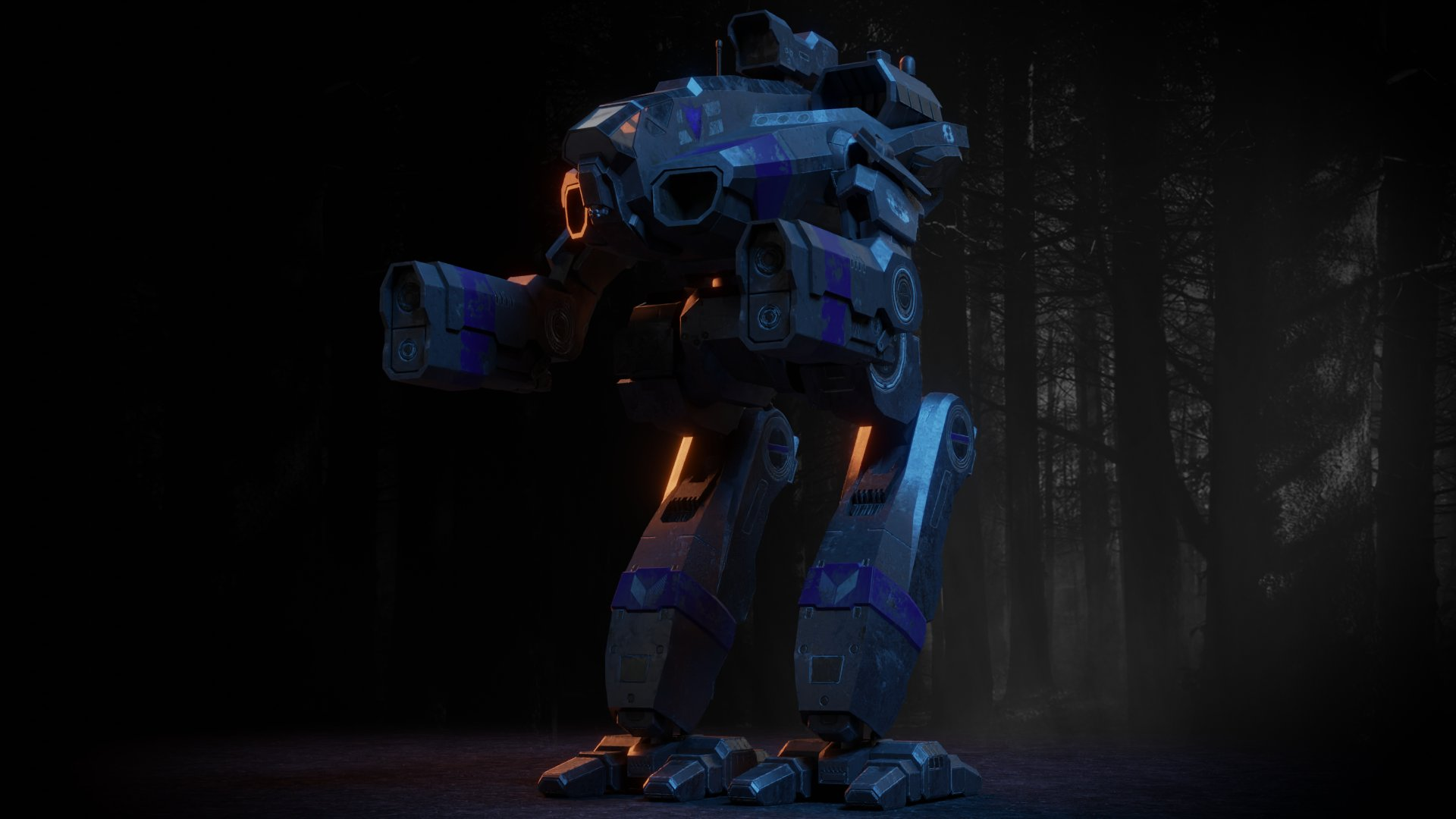 Marauder render, courtesy artist Nay Nay