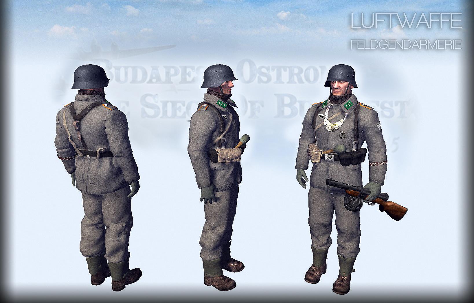 luftwaffe feldgendarmerie,Budapest ostroma 1945,Jatek