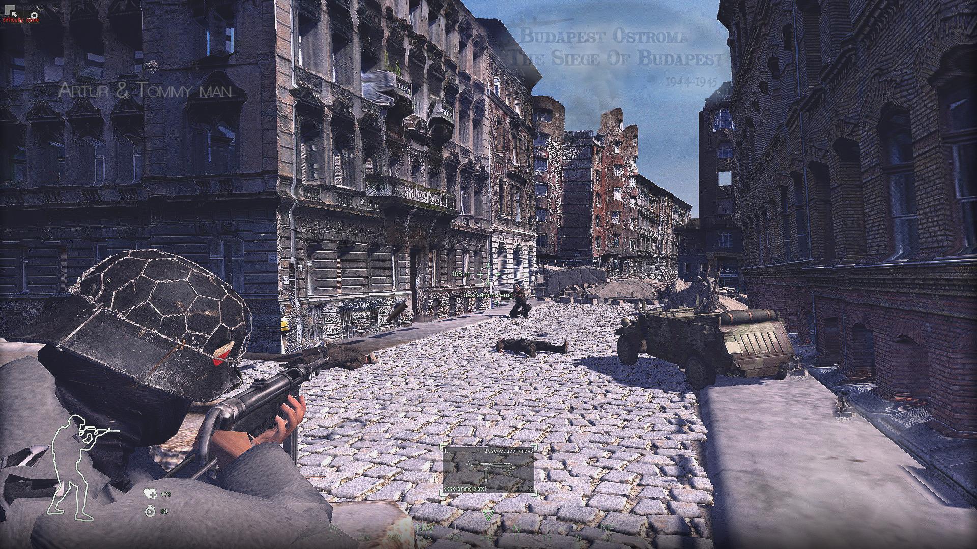 Budapest 1944-45 Ostroma siege,Mod