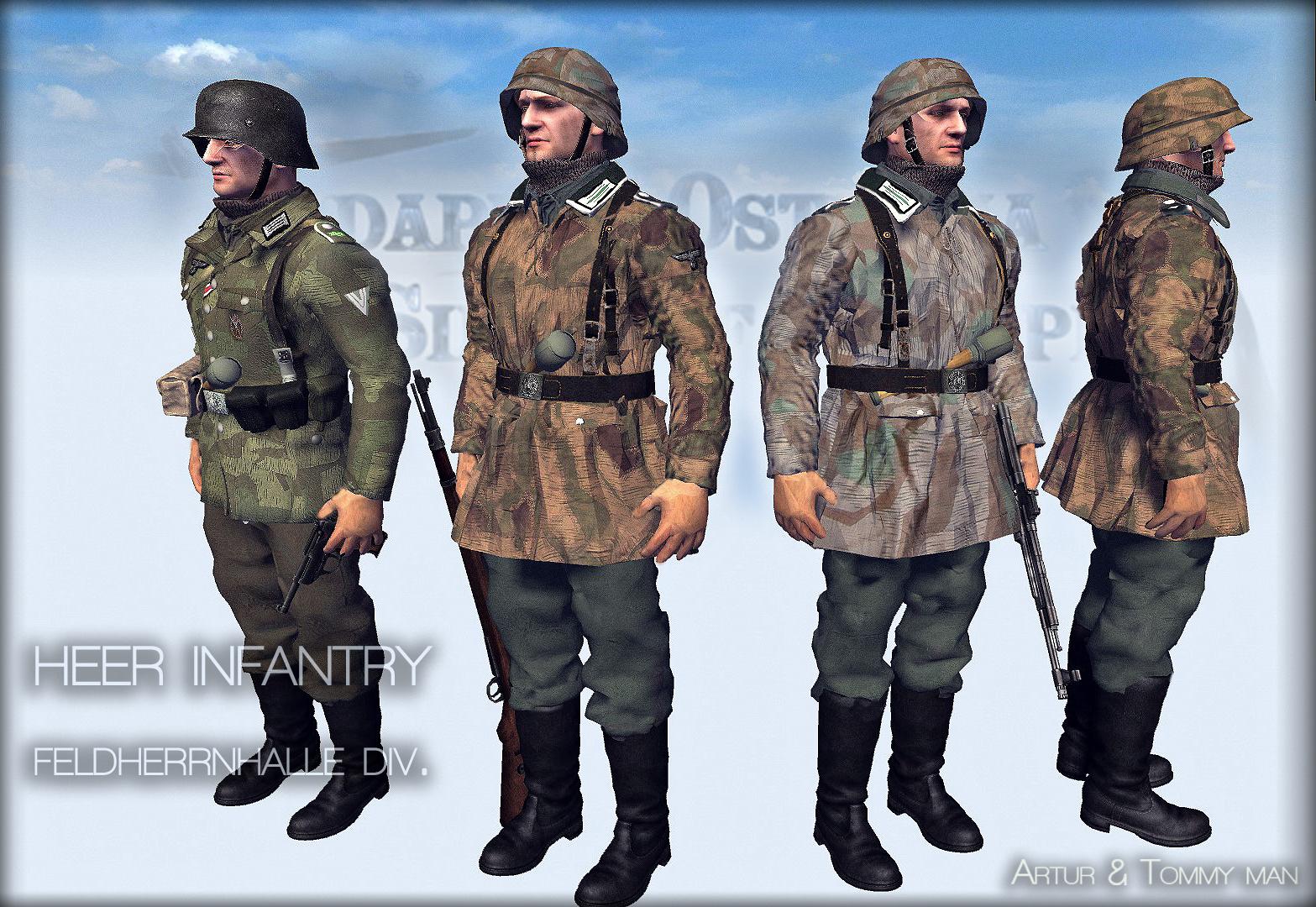 Heer infantry Budapest,1945(feldherrnhalle div.)