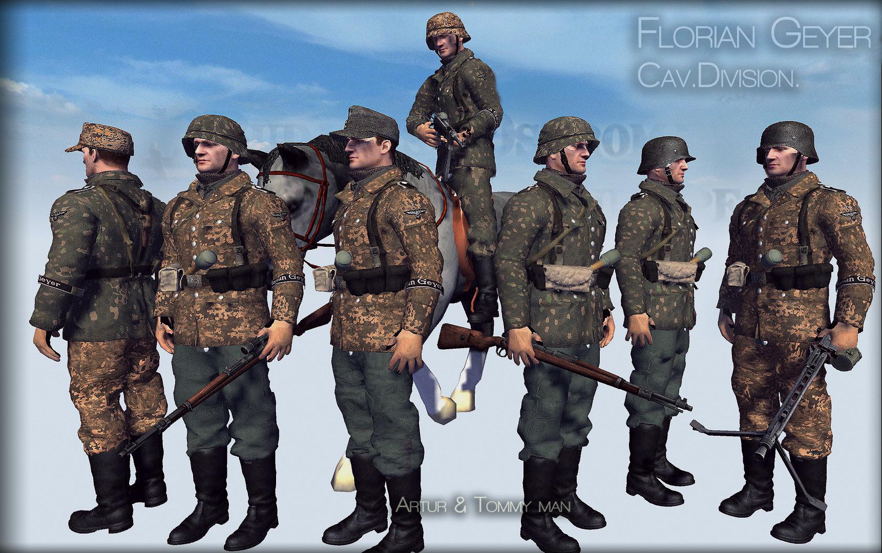 Waffen ss ,Budapest Florian geyer.1944-45