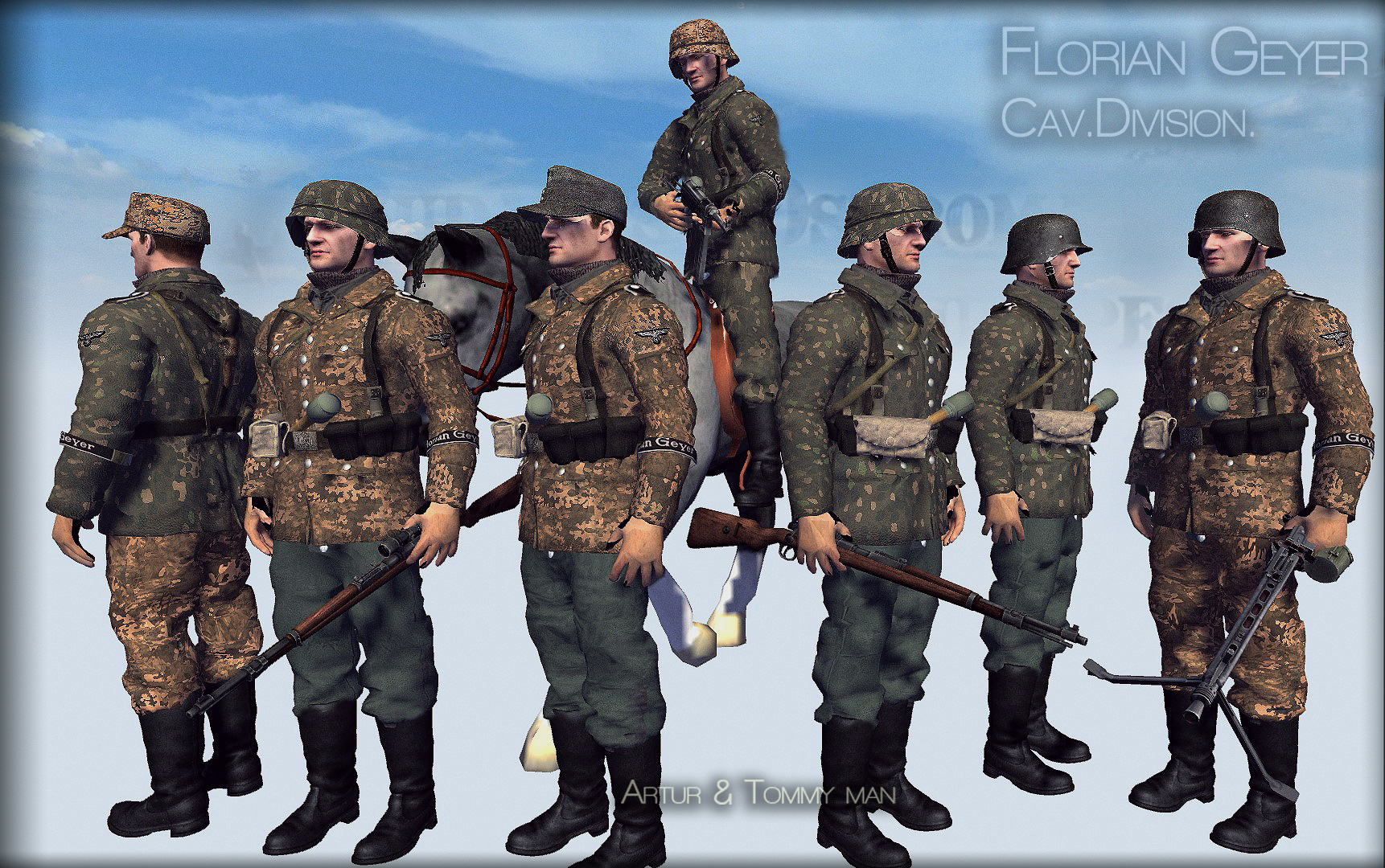 florian geyer budapest uniforms