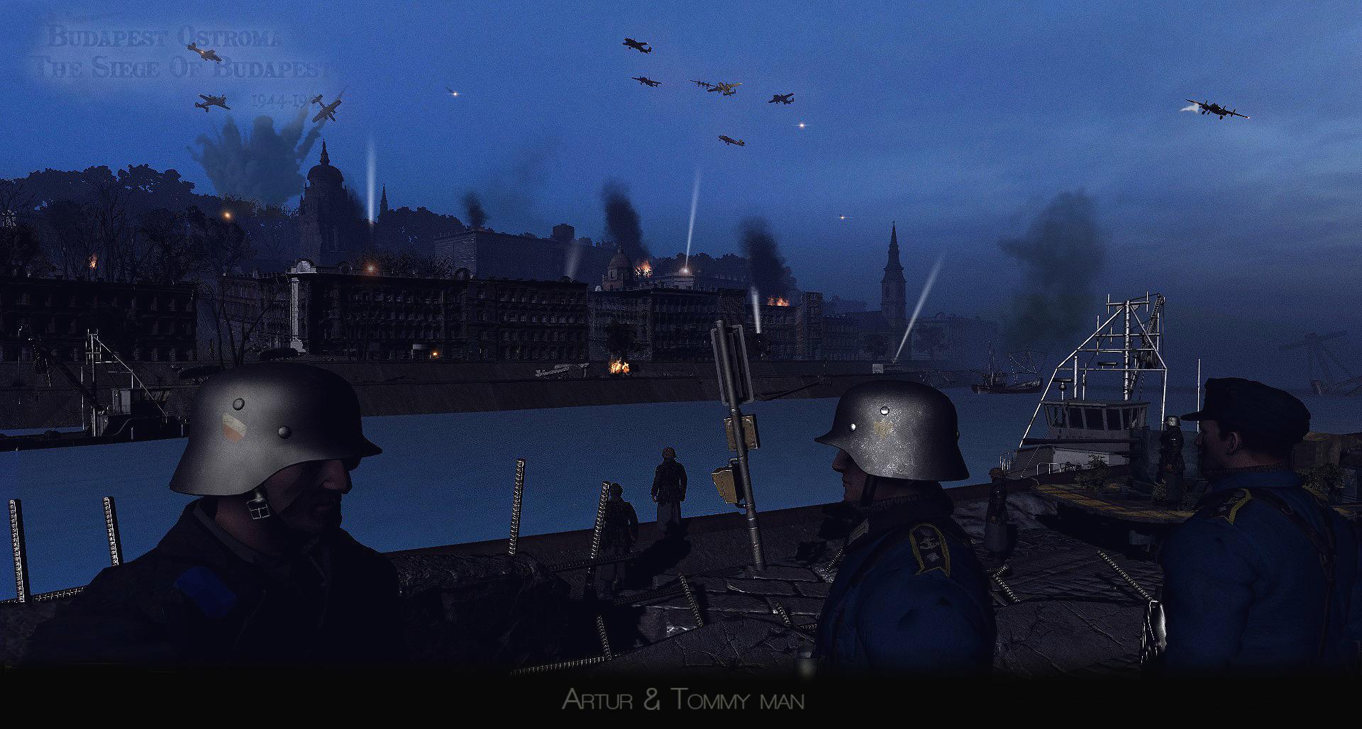 Budapest siege jatek mod gameplay