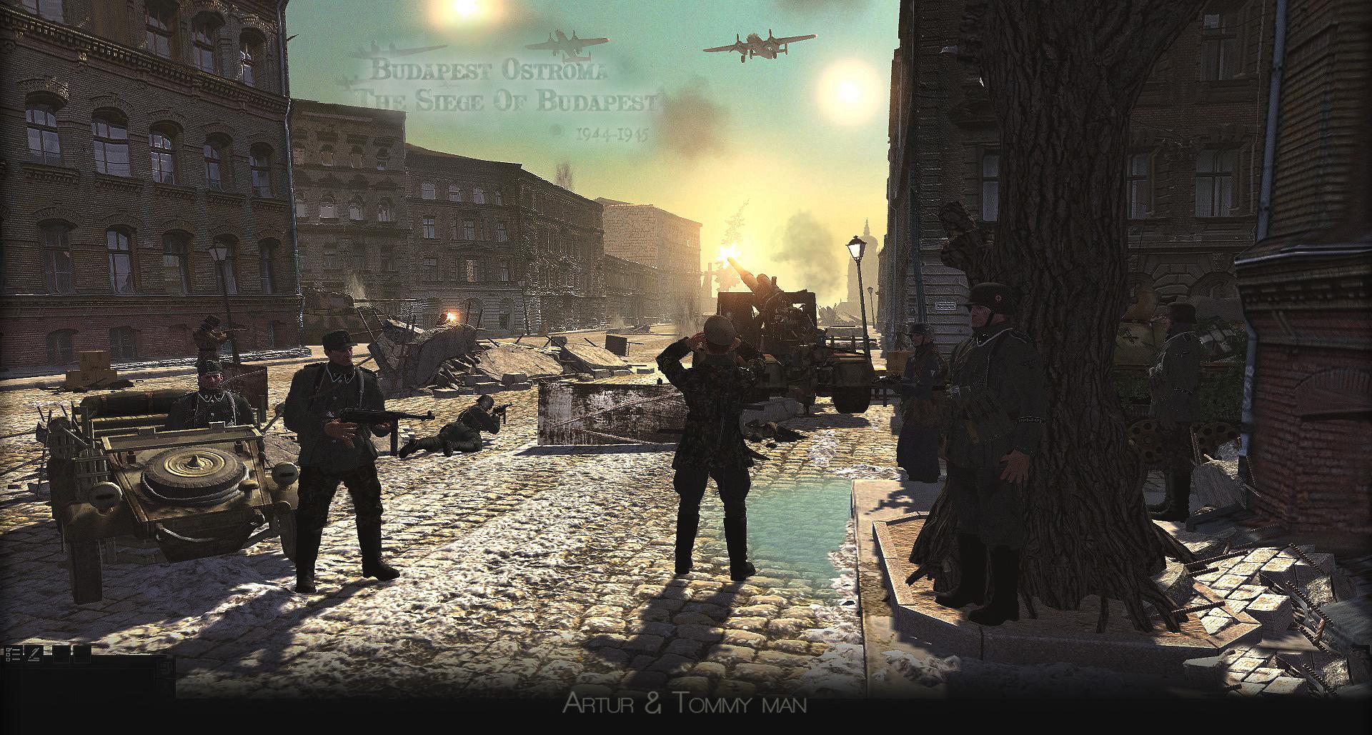 Budapest streets,1944,45,Siege, mod,