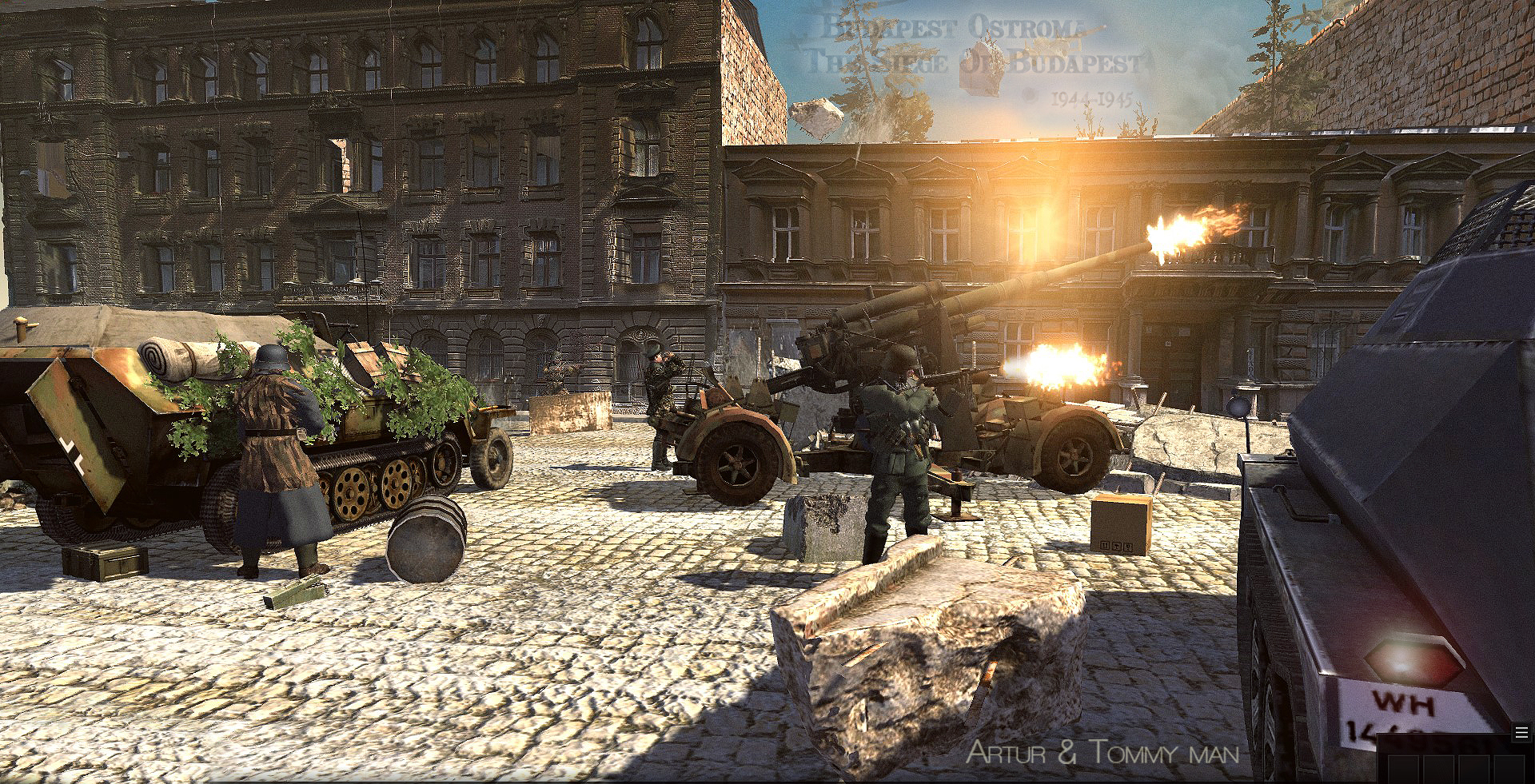 Budapest véres ostroma,1944-45,Játék,Mod,