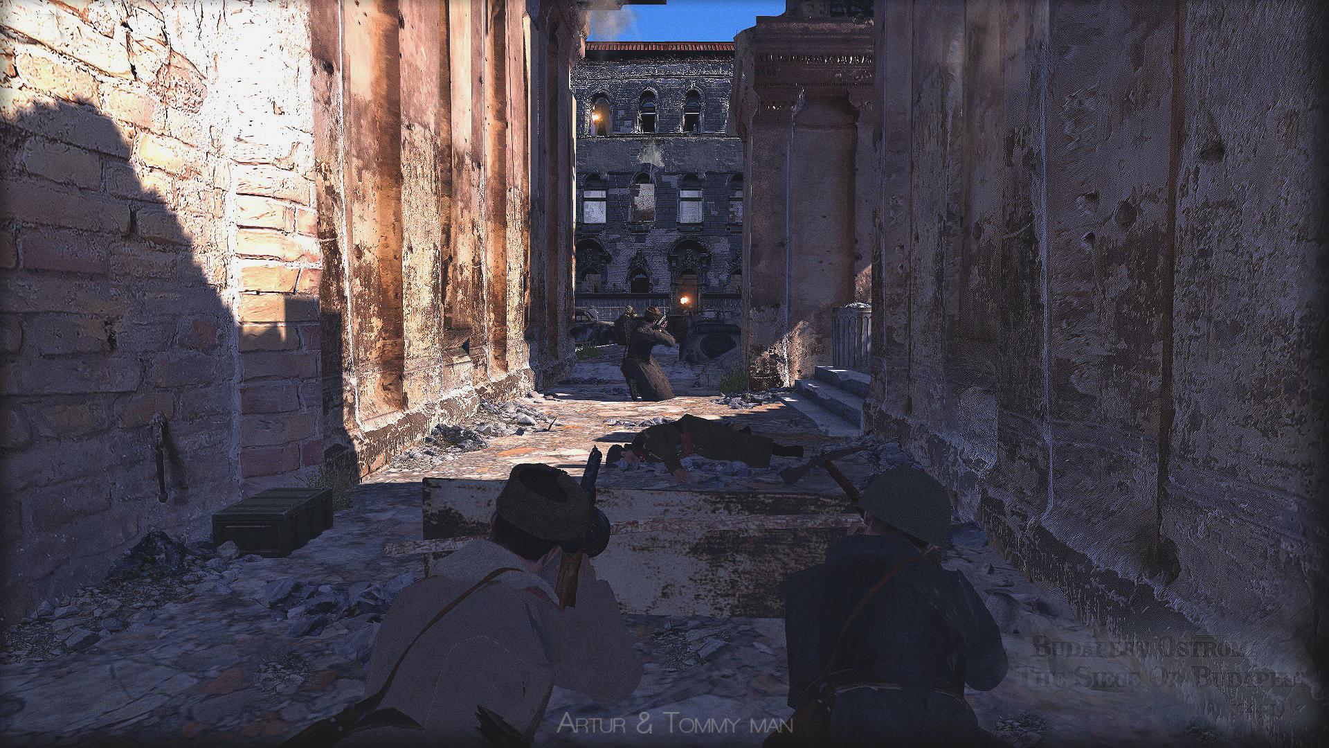 Harcok Budapesten 1944-45, Jatek ostrom,epic,