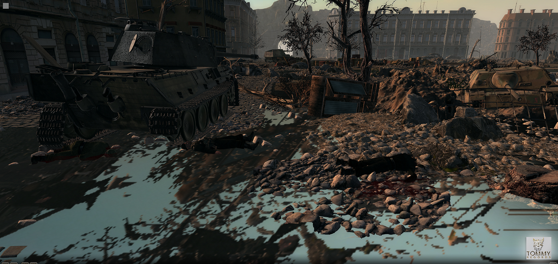 Budapest battle aftermath