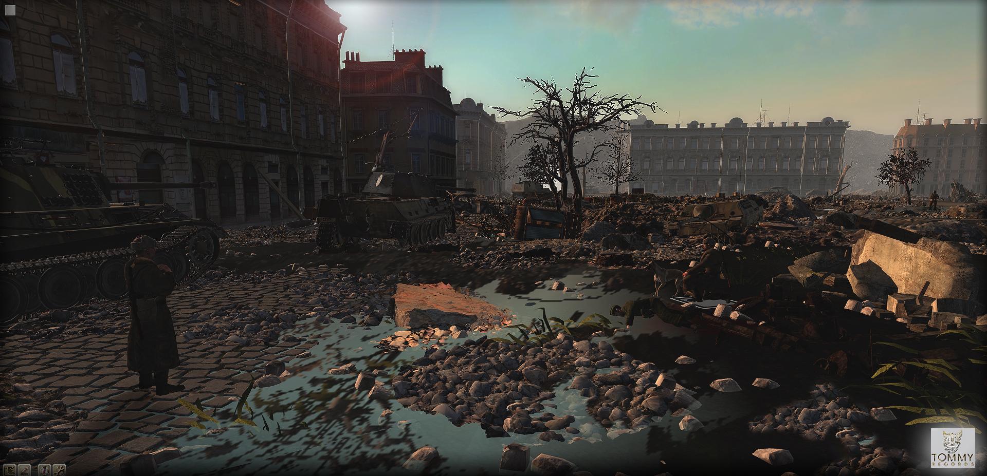 Budapest ostroma után