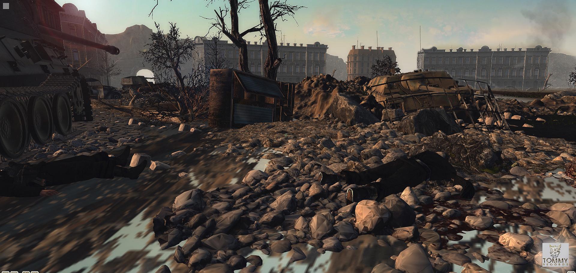 Dead bodies budapest battle